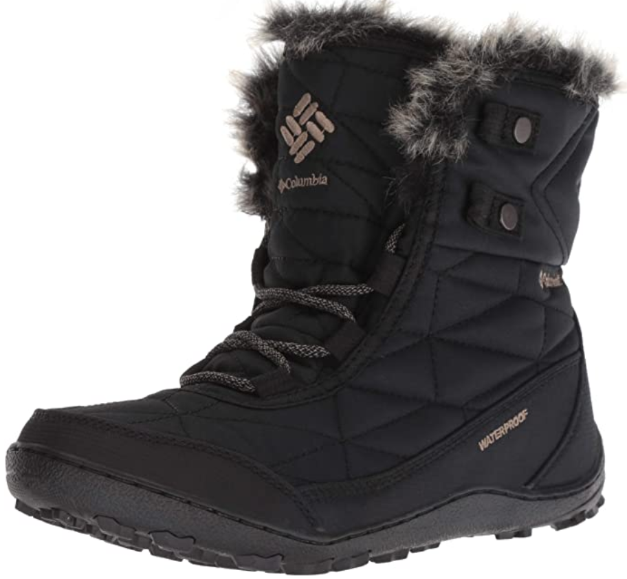 Best Lightweight Boots for Walking in Winter Ice And Snow COLUMBIA MINX SHORTY III ANKLE BOOT