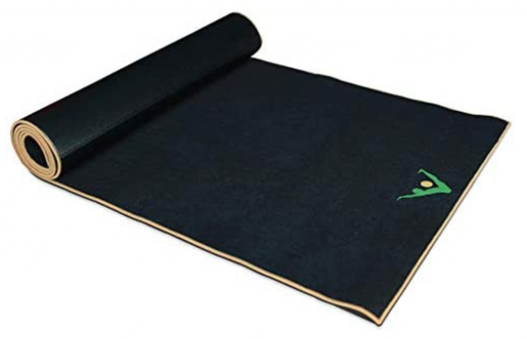 Aurorae Synergy 2 in 1 yoga mat for sweaty hands and feet
