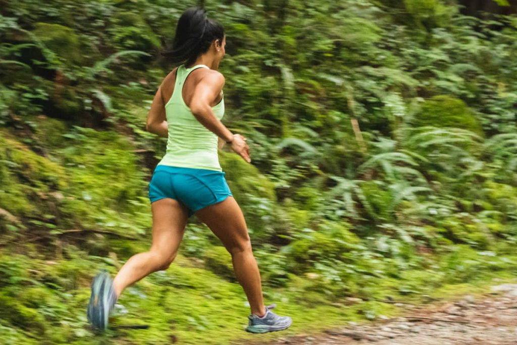 how many steps in 5km woman running