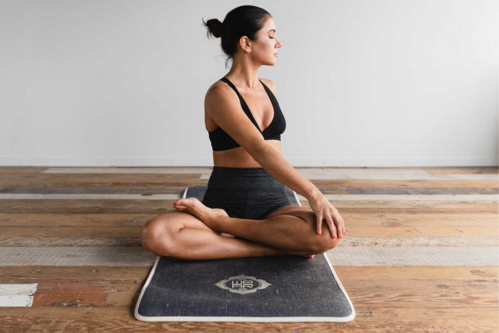 what to bring to yoga class - a yoga mat