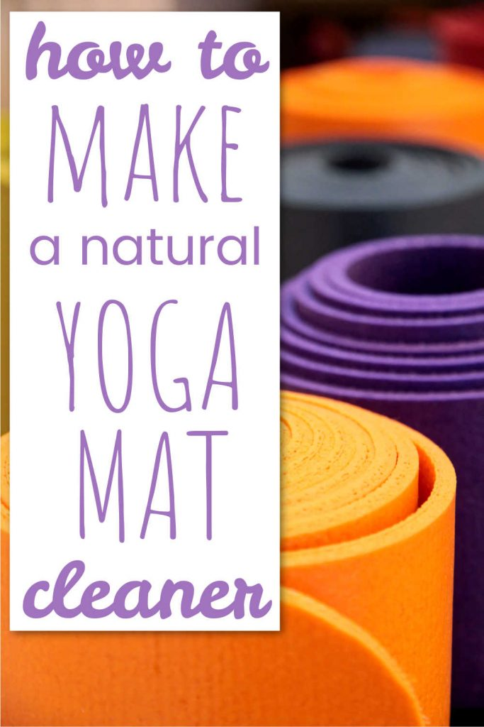 How to Make a Natural Yoga Mat Cleaner