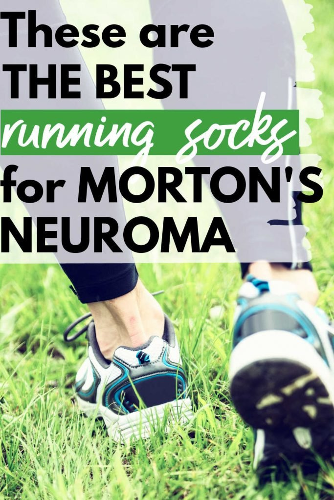 These are the best running socks for morton's neuroma